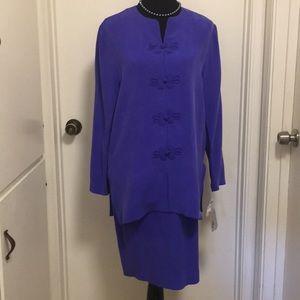 Adrianna Papell 100% silk size 10